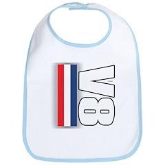 V8 RWB Bib