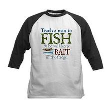 Teach a Man to Fish Tee