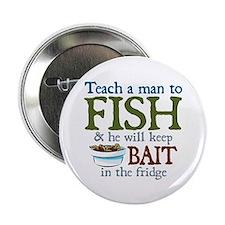 "Teach a Man to Fish 2.25"" Button (100 pack)"
