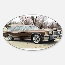 1972 Pontiac Grand Safari Oval Decal