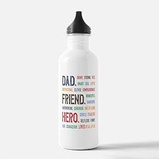 Dad Hero Water Bottle