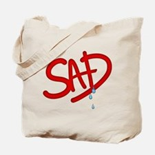 MJ RIP Sad Tote Bag