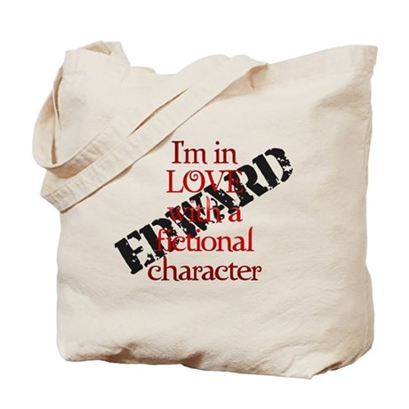 In love fictional character Edward purse Tote Bag