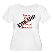 In love fictional character Edward Plus Size Tee