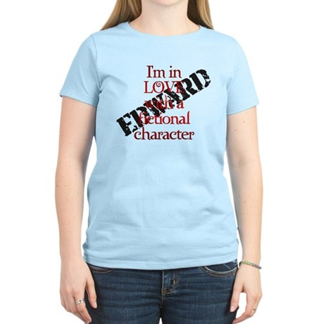 In love with fictional character Edward Light Tee
