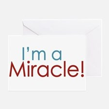 I'm a Miracle (Baby) Greeting Card