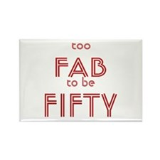 FAB FIFTY Rectangle Magnet