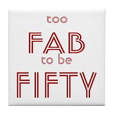 FAB FIFTY Tile Coaster