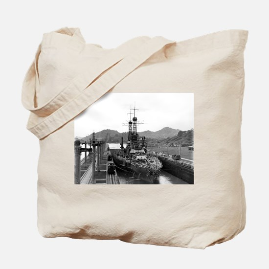 Cute Uss mississippi Tote Bag