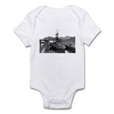 Cute Uss mississippi Infant Bodysuit