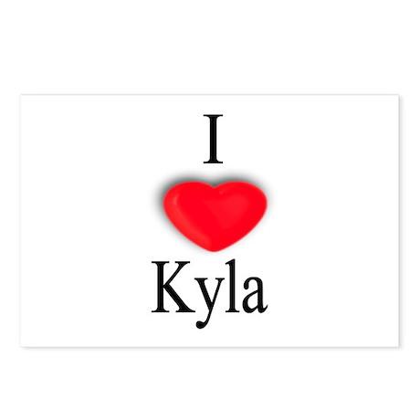 Kyla Postcards (Package of 8)