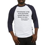 jefferson quote Baseball Jersey
