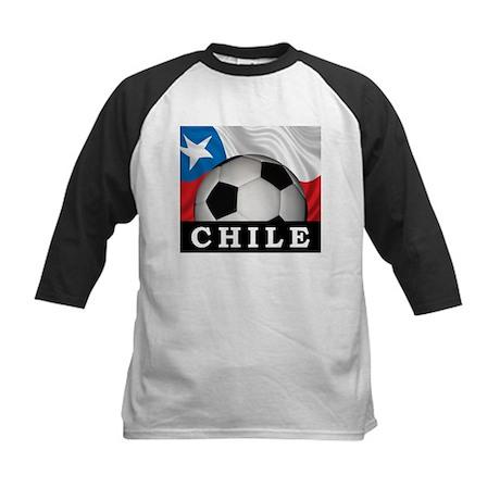 Football Chile Kids Baseball Jersey