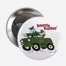 """Beetle and Sarge in Jeep 2.25"""" Button"""
