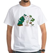 Sarge Yelling White T-Shirt
