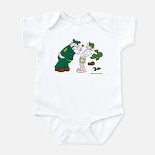 Sarge Yelling Infant Bodysuit