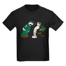 Sarge Yelling Kids Dark T-Shirt