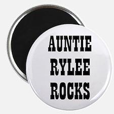 """AUNTIE RYLEE ROCKS 2.25"""" Magnet (10 pack)"""