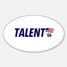 Talent 06 Oval Decal
