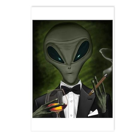 Aliens Got Class Postcards (Package of 8)