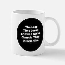 Jesus in Church Mug