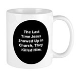 Jesus in Church Mug