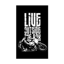 Outside the Box Rectangle Decal