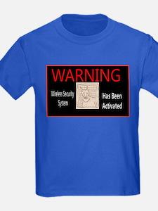 WARNING- Wireless Security Dobie T