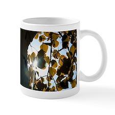 Unique Autumn leaves aspen leaves Mug