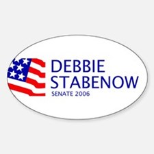 Stabenow 06 Oval Bumper Stickers
