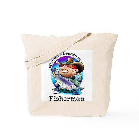 World's Greatest Fisherman Tote Bag