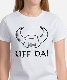 Uff Da! Viking Hat Women's T-Shirt