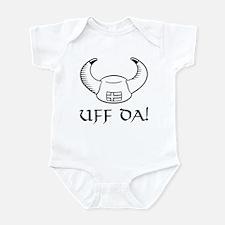 Uff Da! Viking Hat Infant Bodysuit