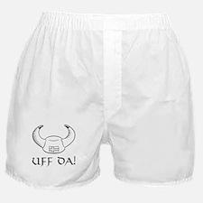 Uff Da! Viking Hat Boxer Shorts