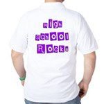 High School Rocks Golf Shirt