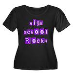 High School Rocks Women's Plus Size Scoop Neck Dar