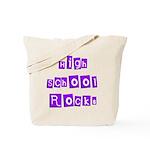 High School Rocks Tote Bag