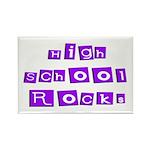 High School Rocks Rectangle Magnet