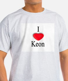 Keon Ash Grey T-Shirt