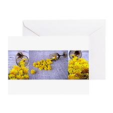 Unique Dandelion art Greeting Card