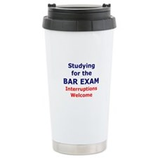 Bar Exam 2 Travel Mug