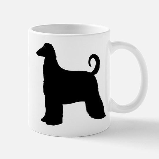 Cute Afghan hound Mug