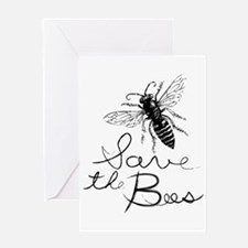 Unique Bee humor Greeting Card