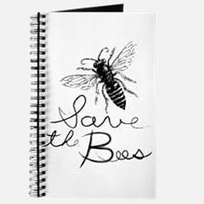 Cute Bee humor Journal