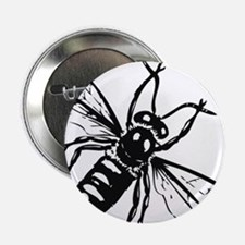 """Honey Bee 2.25"""" Button (10 pack)"""