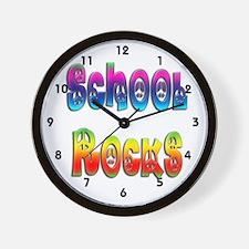 School Rocks Wall Clock