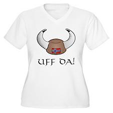 Uff Da! Viking Hat T-Shirt