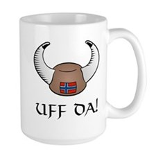 Uff Da! Viking Hat Mug