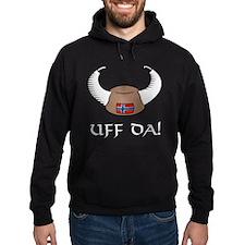 Uff Da! Viking Hat Hoodie