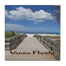 Venice Florida Tile Coaster